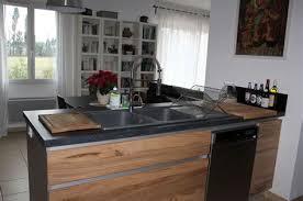 ilot central cuisine bois lovely ilot central cuisine bois 2 cuisine avec 238lot central