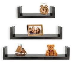 living room wall shelves amazon com