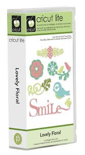 amazon com cricut lite cartridge lovely floral