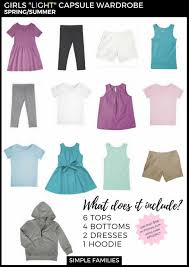 Dress Clothes For Toddlers How To Create A Basic Capsule Wardrobe For Kids Simple Families