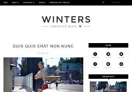 winters blogger template u2022 blogspot templates 2018