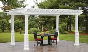 vinyl pergola crafts home