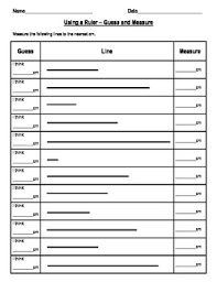 measurement worksheets for length weight capacity calendar and time