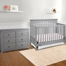Convertible Crib Plans Ti Amo Nursery Sets Baby Furniture Set Within Grey Crib And