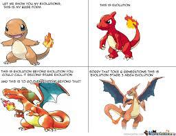 Charmander Meme - charmander evolution line explained dbz style by mememaker101 meme
