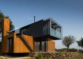 house design architecture grillagh water house built from stacked shipping containers