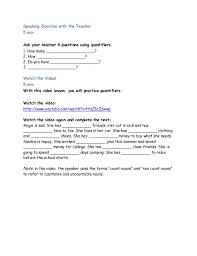 Count And Noncount Nouns Practice Pdf 07 Grammar Quantifiers 01 Countable Vs Uncountable Pdf