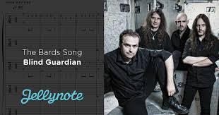 Blind Guardian Tabs The Bards Song Blind Guardian Free Guitar Tabs U0026 Sheet Music