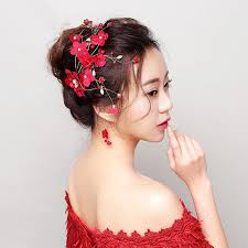 flower hair clip new flower hair clip princess floral hairpin wedding hair