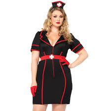 nurses black womens costume plus size from halloween hq