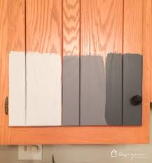 can you stain painted cabinets should i paint my kitchen cabinets designertrapped com