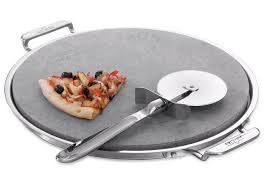 all clad pizza stone set for homemade crust crisp pizza fancy