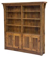 Reclaimed Wood Bookshelf Barnwood Bookcase Reclaimed Bookcase Antique Wood Bookcase