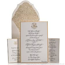 Monogram Wedding Invitations Fabulous Formal Wedding Invitation Wording Etiquette Gold And