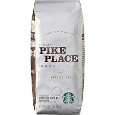 Starbucks Light Roast Starbucks Pike Place Roast Whole Bean Coffee 1 Lb Bag Staples