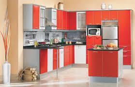 Modular Kitchen Designs India by Tag For Modular Kitchen Red Colour Nanilumi