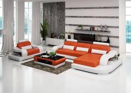canapé d angle orange canapé d angle cuir lyon italien design pas cher