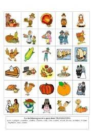 thanksgiving flashcards printable flash cards choosboox