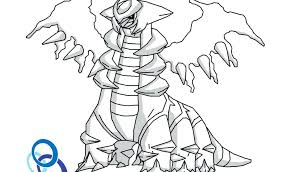 coloriages giratina  dmatechinfo