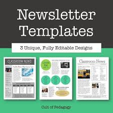 17 best ideas about newsletter template free on pinterest inside
