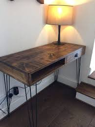Small Wooden Desk Small Rustic Desk Best Reclaimed Wood Desk Products On In Small