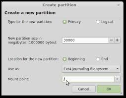 Unsupported Partition Table How To Install With Manual Partitioning Linux Mint Forums