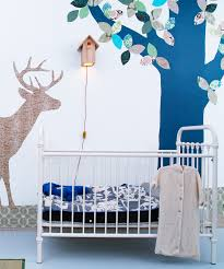 10 ideas for a woodland animal themed nursery shopping guides woodland wallpaper silhouettes
