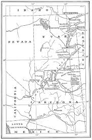 Colorado City Az Map by The Usgenweb Archives Digital Map Library National Maps