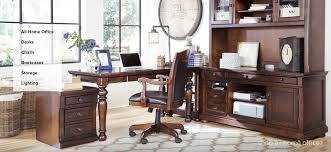 Office Desk With Cabinets Pretty Design Home Office Desk Furniture Plain Home Office