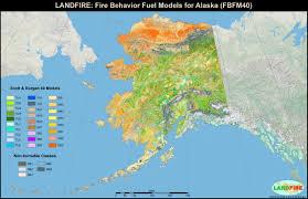 Wildfire Alaska 2015 Map by Landfire Program Applications