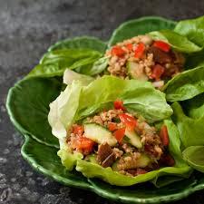 cooking light vegan recipes thai lettuce cups with basil vegan gluten free