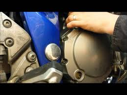 how to change your oil and filter bandit 600s chelt mods youtube