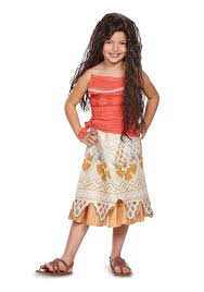 girl costumes disney moana classic costume for