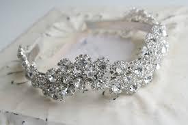 sparkly headbands bridal headpiece sparkly bridal headband crown wedding