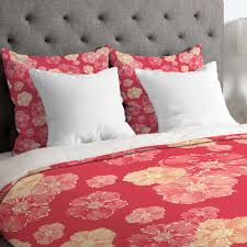 bedroom king size duvet cover with beautiful coral duvet cover