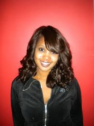 photo shoulder length sew in weave styles curly sew in weave