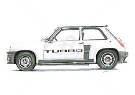 renault car 1980 renault 5 turbo dessinludo