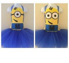 Minion Tutu Dress Etsy Minion Tutu Dress Coocoofortutu Etsy Halloween