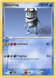 crazy frog coloring page pokémon crazy frog 5 5 coolblast my pokemon card
