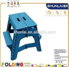 2 step molded plastic stool with non slip step treads double step