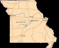 missouri map columbia map of missouri