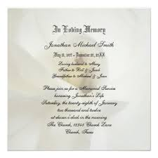 funeral service invitation personalized funeral invitations custominvitations4u