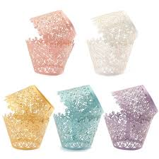 pearly paper filigree vine lace cupcake wrappers internet vs wallet
