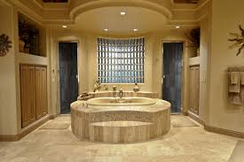 modern luxury master bathroom designs with marble floor and white