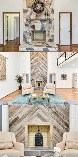 Barn Wood Wall Ideas by Top 25 Best Reclaimed Wood Fireplace Ideas On Pinterest Wood
