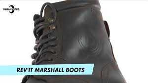 brown motorcycle shoes rev u0027it marshall motorcycle boots review by urban rider youtube