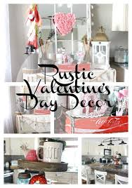 rustic glam valentine u0027s day decor the glam farmhouse