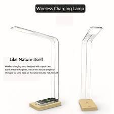Cordless Led Desk Lamp 2015 Qi Tendency Wireless Charging Phone Led Desk Lamp U0026 Table