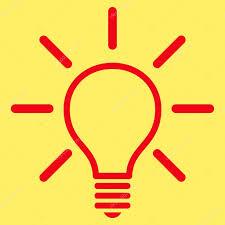 Flat Light Bulb Light Bulb Flat Vector Pictogram U2014 Stock Vector Anastasyastocks