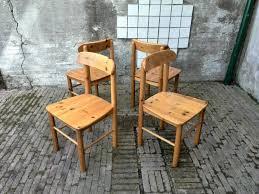 pine chairs vintage danish pine chairs by rainer daumiller for hirtshals